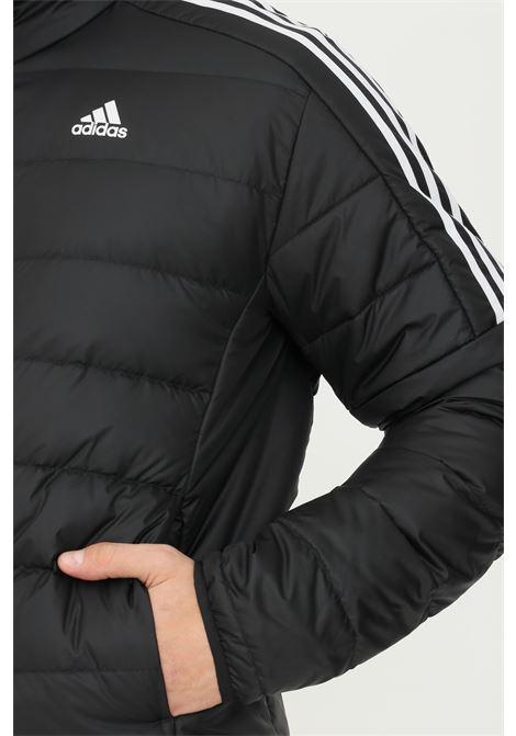 Giacca imbottita essentials uomo nero adidas con zip frontale ADIDAS | Giubbotti | GH4589.