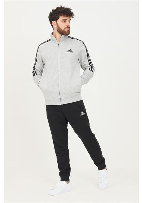 Grey black men's suit by adidas ADIDAS   Suit   GK9975.