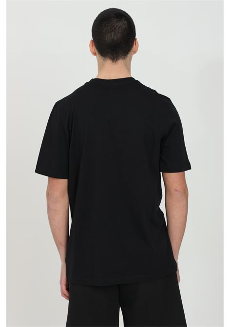 Black men's essential 3-stripes t-shirt short sleeve adidas ADIDAS   T-shirt   GL3732.