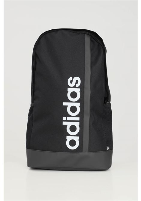 Black unisex backpack with contrasting adidas logo on the front  ADIDAS | Backpack | GN2014.