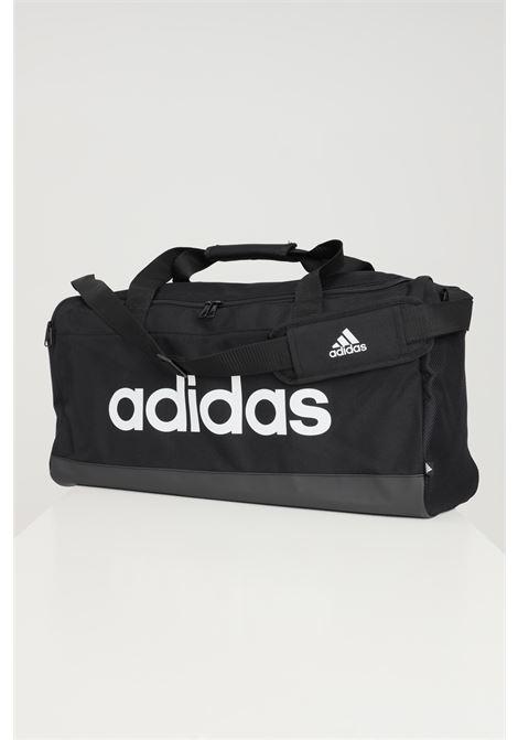Black gym bag with maxi logo in contrast adidas ADIDAS | Sport Bag | GN2038.