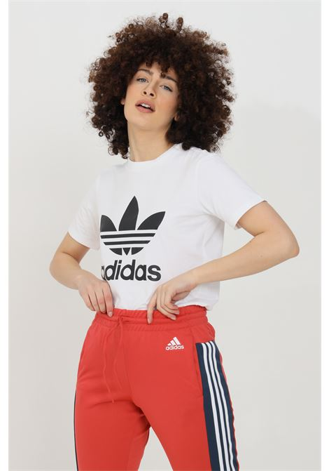 White women's adicolor classic trefoil t-shirt short sleeve adidas ADIDAS | T-shirt | GN2899.