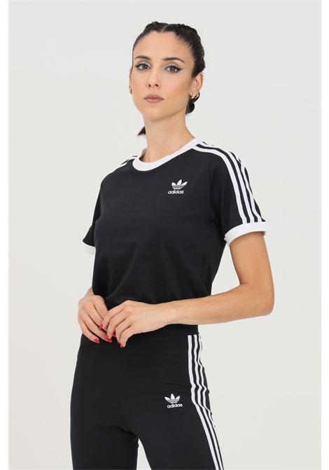Black women's t-shirt short sleeve adidas ADIDAS | T-shirt | GN2900.