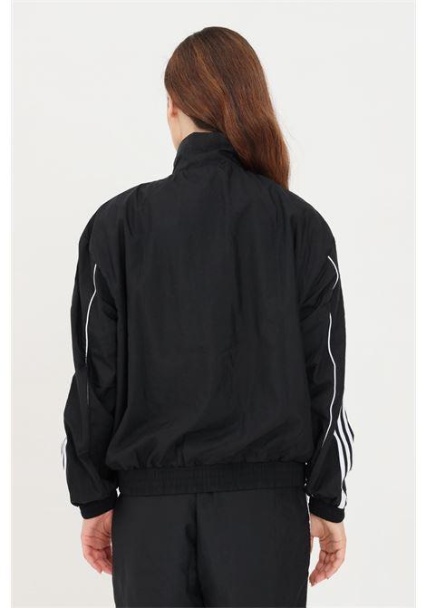Black women's track top adicolor classic japona sweatshirt with zip adidas ADIDAS | Sweatshirt | GN2928.