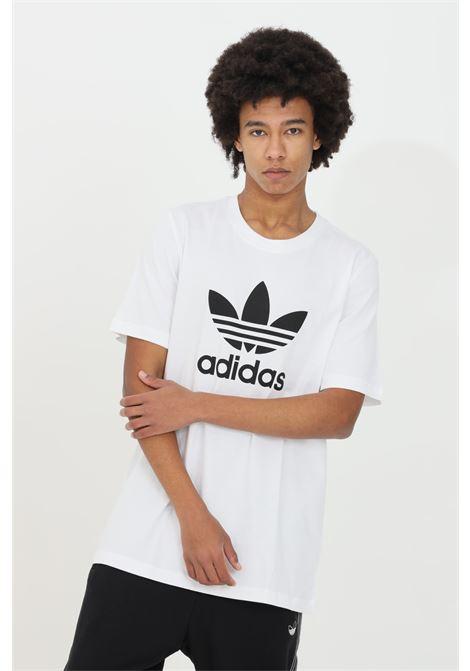 White men's adicolor classic trefoil t-shirt short sleeve adidas ADIDAS   T-shirt   GN3463.
