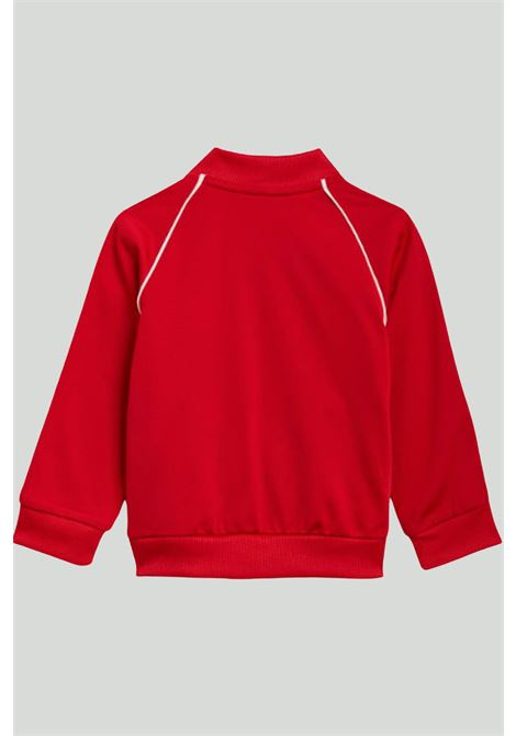 Red newborn jumpsuit adidas ADIDAS   Suit   GN8439.
