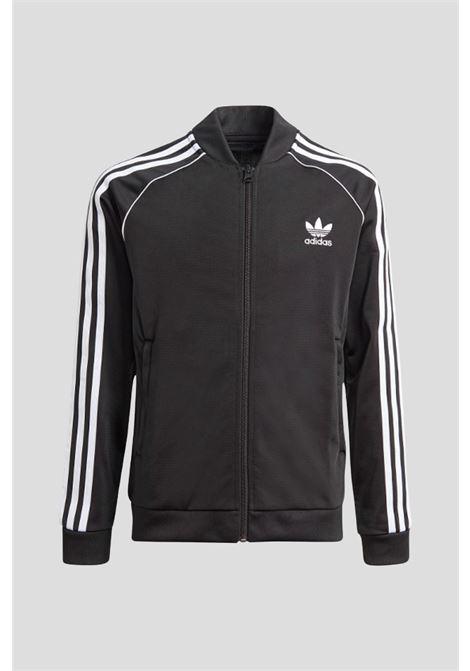 Black adicolor sst sweatshirt adidas ADIDAS | Sweatshirt | GN8451.
