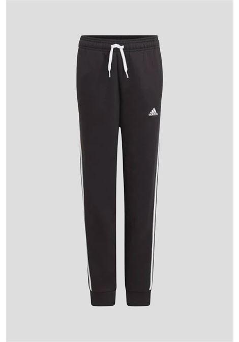 Pantaloni adidas essentials 3-stripes bambino unisex nero ADIDAS | Pantaloni | GQ8897.