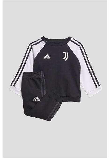 Baby black tracksuit adidas bicolor sport juventus ADIDAS   Suit   GR2922.