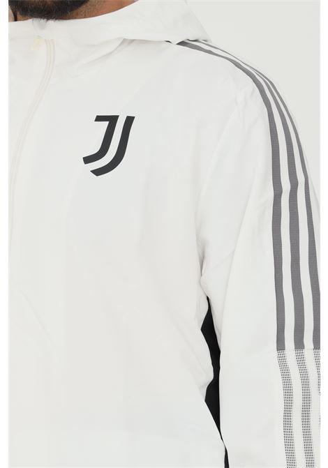 Giacca da rappresentanza tiro juventus uomo bianco adidas con zip ADIDAS | Felpe | GR2967.