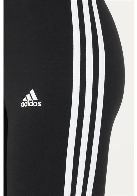 Black women's essentials 3-stripes bike short by adidas  ADIDAS | Shorts | GR3866.