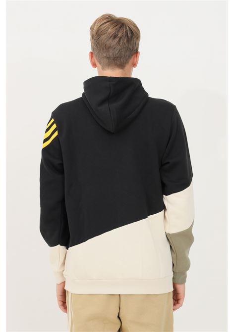 Felpa uomo adidas con cappuccio e lacci chiusura frontale con zip ADIDAS | Felpe | GR4095.