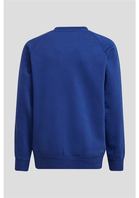 Felpa real madrid bambino blu adidas modello girocollo ADIDAS   Felpe   GR4257.