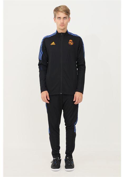 Tuta uomo blu adidas sport ADIDAS | Tute | GR4350.