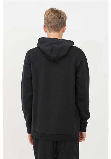 Felpa uomo nero adidas con cappuccio ADIDAS | Felpe | GT3737.