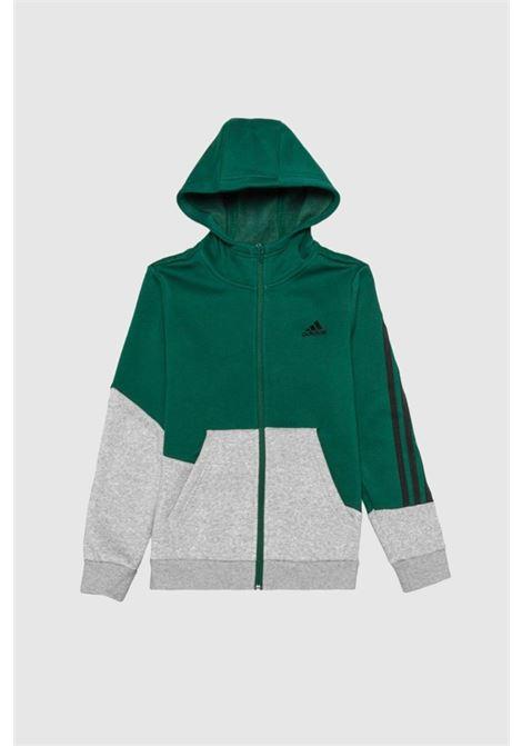 Tuta bambino grigio verde adidas ADIDAS   Tute   GT6968.