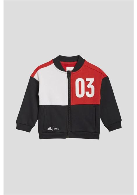 Red newborn disney mickey mouse set by adidas ADIDAS   Suit   GT9476.