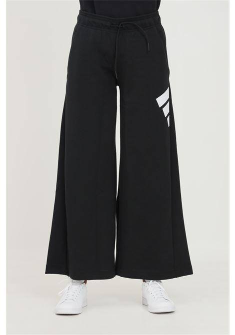 Pantalone largo sportswear future icons donna nero adidas casual ADIDAS | Pantaloni | GU9679.
