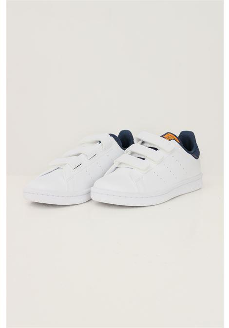 Sneakers stan smith cf c bambino unisex bianco adidas con inserti in denim ADIDAS | Sneakers | GZ7360.