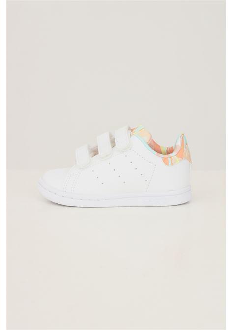 Sneakers stan smith neonato bianco adidas con stampa pastello ADIDAS | Sneakers | GZ8366.