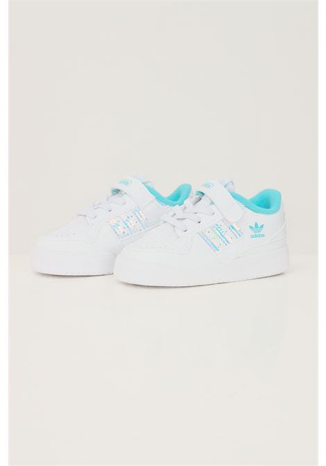 Sneakers forum iridescent neonato bianco adidas con bande laterali iridescenti ADIDAS | Sneakers | GZ8847.