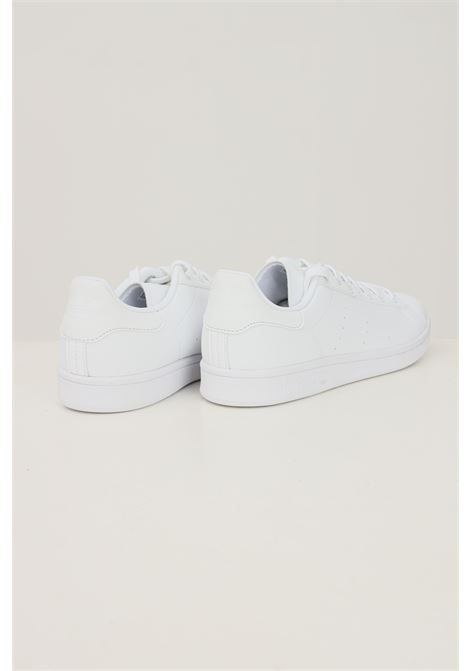 White men's stan smith sneakers by adidas  ADIDAS | Sneakers | H00330.