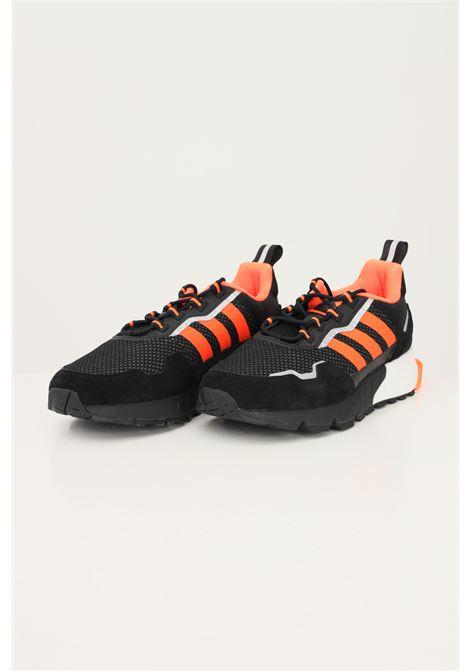 Black men's ZX 1K Boost sneakers by adidas  ADIDAS | Sneakers | H00428.