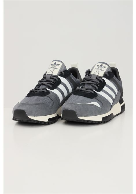 Grey men's zx 700 hd sneakers by adidas with contrasting bands ADIDAS | Sneakers | H01851.