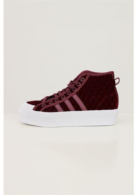 Sneakers adidas nizza platform donna bordeaux ADIDAS | Sneakers | H02701.