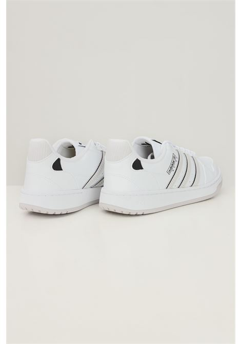 White unisex ny 90 stripes sneakers by adidas ADIDAS | Sneakers | H03095.