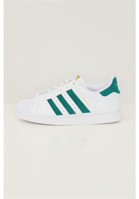 Sneakers superstar c bambina bianco adidas con inserti in pelliccetta ADIDAS | Sneakers | H03983.