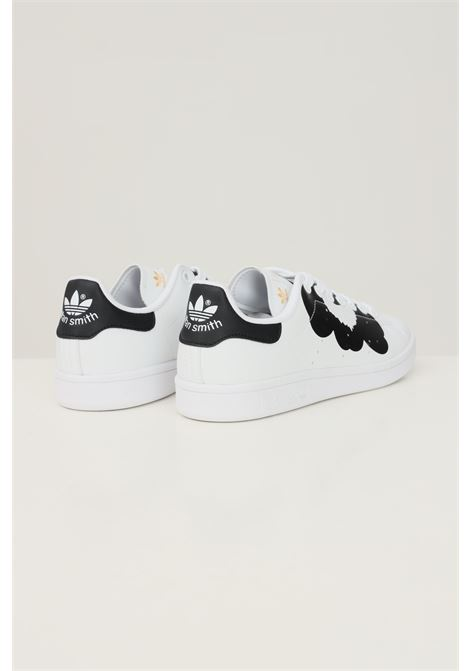 White women's marimekko stan smith sneakers by adidas ADIDAS | Sneakers | H04073.