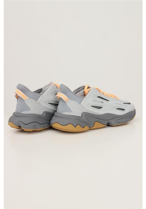 Grey men's ozweego celox sneakers by adidas  ADIDAS | Sneakers | H04234.
