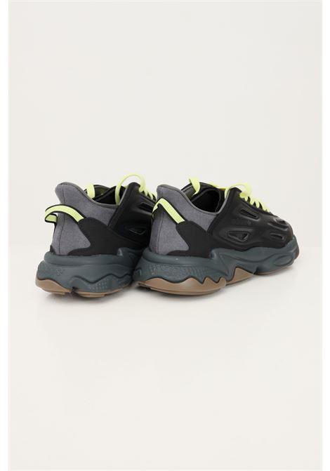 Black men's ozweego celox sneakers by adidas  ADIDAS | Sneakers | H04235.