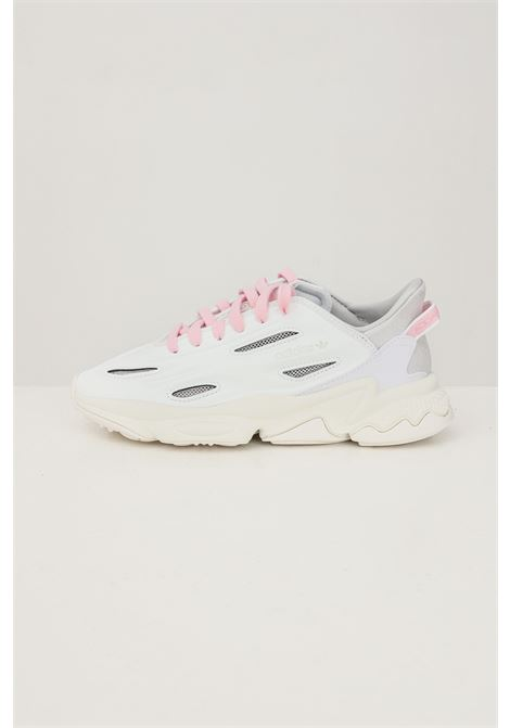White women's ozweego celox sneakers by adidas  ADIDAS | Sneakers | H04261.