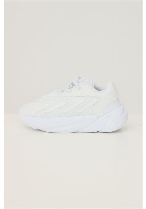 White newborn ozelia el i sneakers by adidas ADIDAS | Sneakers | H04748.