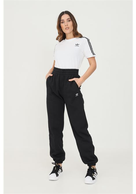 Pantaloni adicolor essentials fleece joggers uomo nero adidas ADIDAS   Pantaloni   H06629.