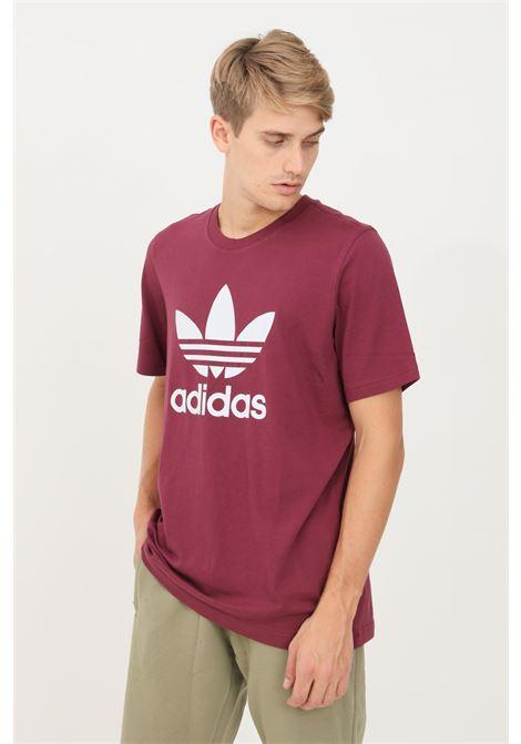 T-shirt classic trefoil uomo viola adidas a manica corta ADIDAS | T-shirt | H06641.