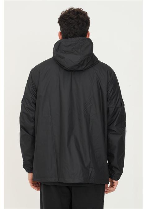 Giacca a vento adicolor classics 3-stripes uomo nero adidas ADIDAS | Giubbotti | H06683.