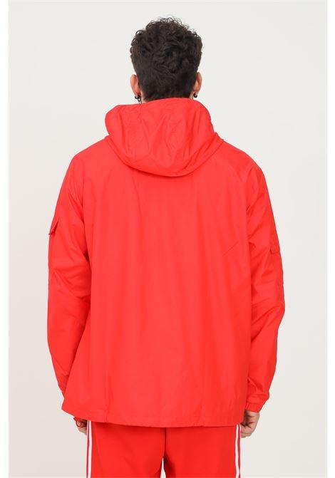 Giacca a vento adicolor classics 3-stripes uomo rosso adidas ADIDAS | Giubbotti | H06685.