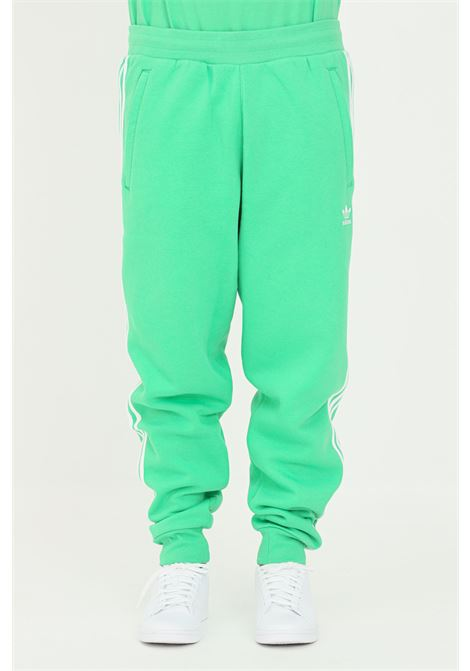 Pantaloni adicolor classics 3-stripes uomo verde adidas sport ADIDAS | Pantaloni | H06686.