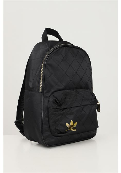 Black women's nylon w bp backpack by adidas with geometric pattern ADIDAS | Backpack | H09039.