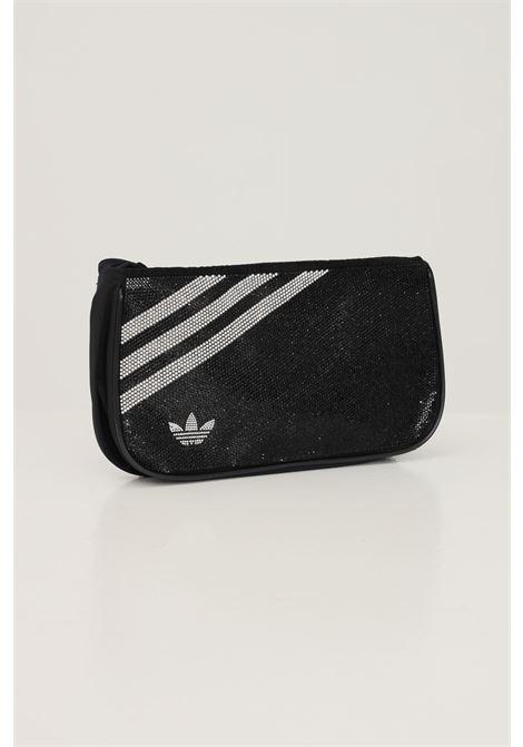 Borsa donna nero adidas con tracolla e strass ADIDAS   Borse   H09133.
