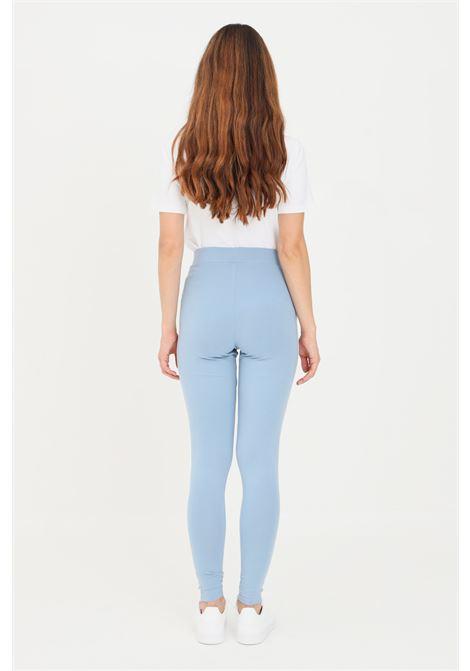 Light blue women's adicolor classic 3-stripes leggings by adidas ADIDAS | Leggings | H09423.