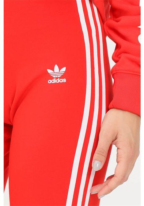 Red women's adicolor classic 3-stripes leggings by adidas  ADIDAS | Leggings | H09428.