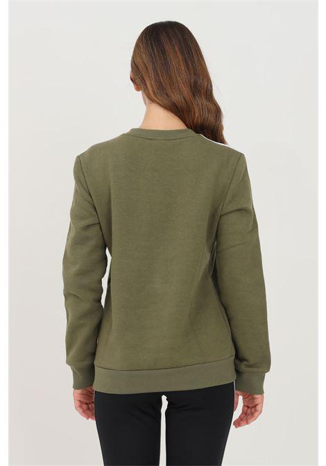 Felpa donna verde adidas girocollo ADIDAS   Felpe   H10195.