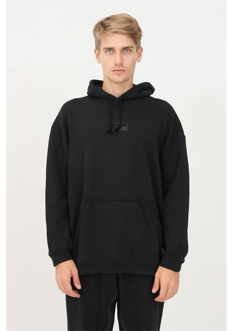Felpa hoodie ryv loose fit uomo nero adidas con cappuccio ADIDAS | Felpe | H11479.