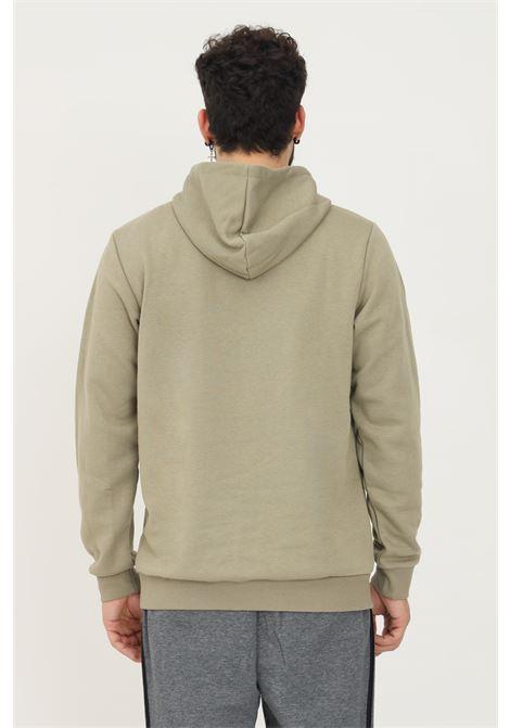 Felpa con cappuccio essentials fleece big logo uomo verde adidas ADIDAS   Felpe   H12201.