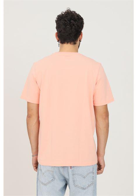 Pink men's funny dino natural t-shirt by adidas short sleeve ADIDAS | T-shirt | H13450.