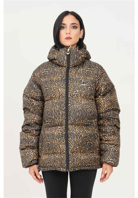 Fantasy women's sprt animal print puffer jacket by adidas ADIDAS | Jacket | H13569.